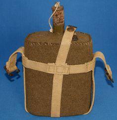 WW1 WW2 British Army Canteen Bottle. 37 Pattern Carrier.   eBay!