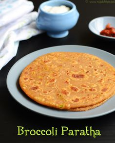 Broccoli paratha recipe - Stuffed paratha recipe, with broccoli, easy Indian paratha recipes with step by step pictures. North Indian Recipes, South Indian Food, Indian Food Recipes, Ethnic Recipes, Pesto Pasta Recipes, Broccoli Recipes, Masala Dosa Recipe, Momos Recipe, Indian Dishes