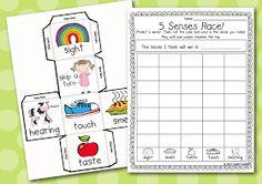 Kindergarten Smiles: Five Senses