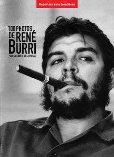 Che by René Burri - Argentine, Mexican Hero Revolutionary http://www.rog.at/fotobuecher/BURRI%20COUV%20FR%20BD.jpg