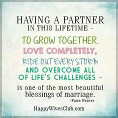 Love Quotes : Most Beautiful Blessings - Happy Wives Club - Quotes Time Godly Marriage, Strong Marriage, Marriage Life, Happy Marriage, Marriage Advice, Love And Marriage, Godly Relationship, Marriage Qoutes, Marriage Prayer