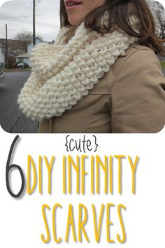 6 Cute DIY Infinity Scarf Ideas