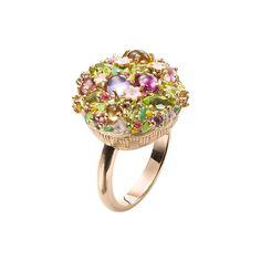 """Arcimboldo"" Gemstone Ring  | PLUKKA ♥•♥•♥"