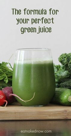 Never make another gnarly green juice again! Here's the formula for your perfect green juice | eatnakednow.com
