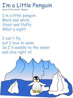 Poem: I'm a Little Penguin