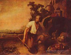 The parable of the treasure seekers - Rembrandt van Rijn