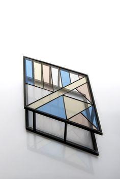 Santissimi trays by Serena Confalonieri