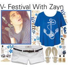 """V- Festival With Zayn - #054"" by onedirection-outfits on Polyvore"