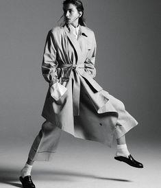 Publication:WSJ. Magazine Photography: Daniel Jackson Styled by: Geraldine Saglio Hair: Yannick D'Is Makeup: Hannah Murray Model: Andreea Diaconu