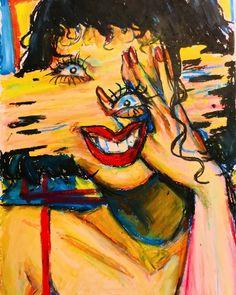 navigation home ask submit redux edit by king Hi I'm Lizbeth im 20 and i luv to draw hehe ART Art Sketches, Art Drawings, Oil Pastel Art, Arte Sketchbook, Psy Art, Arte Horror, Hippie Art, Weird Art, Surreal Art