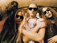 Layne Staley and Mike Starr … Gerard Way, Mike Inez, Mike Starr, Jerry Cantrell, Mad Season, Layne Staley, Alternative Metal, Alice In Chains, Progressive Rock