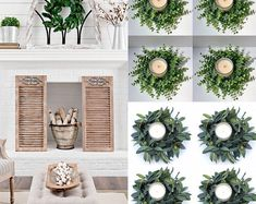 BellasBloomStudio Greenery Centerpiece, Greenery Wreath, Centerpieces, Wreaths, Wedding Arch Rustic, Garland Wedding, Wedding Backdrops, Wedding Greenery, Cheap Wedding Decorations