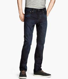 H&M Dark Wash Jeans, skinny or straight