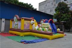 850.00$  Watch here - http://alijlv.worldwells.pw/go.php?t=32491681387 - Interesting Inflatable Bouncing Castle for Wholesale 850.00$