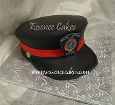 policeman hat cake - Google Search