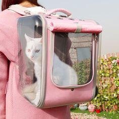 Pet Cat Carrier Backpack Breathable Cat Travel Outdoor Shoulder Bag For Small Dogs Cats Portable Packaging Carrying Pet Supplies Cat Backpack Carrier, Dog Backpack, Cat Carrier, Small Pet Carrier, Guess Backpack, Prada Backpack, Kipling Backpack, Adidas Backpack, Sling Carrier