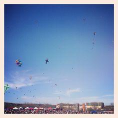Zilker Park Kite Festival!! #austin #kites #fun #skies