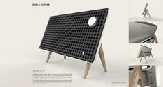 B&O Speaker Design on Behance