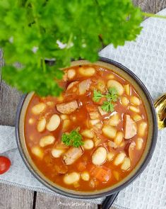 Bean Soup, Cheeseburger Chowder, Cantaloupe, Chili, Beans, Food And Drink, Fruit, Polish, Chile