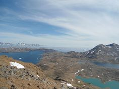 View from the Praestefjeld mountain, Tasiilaq, Greenland - Vue depuis Praestefjeld, Tasiilaq, Groenland. Photo Line Lykke Hagen.