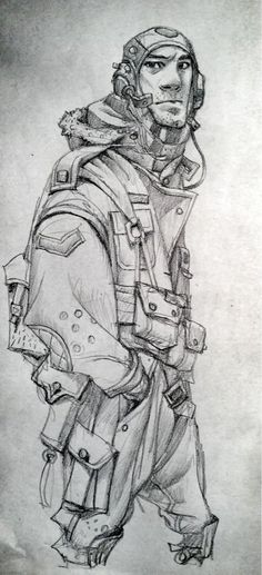 Karakter Kıyafetleri - Pilotlar / Character Outfit - Aviators | Find us on > https://www.facebook.com/maviturta , https://instagram.com/maviturta/ , https://twitter.com/maviturta , https://www.facebook.com/groups/maviturta/ #draw #drawing #kıyafet #outfit #elbise #pilotlar #Aviators #karaktertasarımı #characterdesign #sketch #sketching #eskiz #cizim #art #digitalart #digitalpainting #digitalrenklendirme