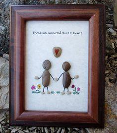 Pebble Art Rock Art Sisters Best Friends Friends
