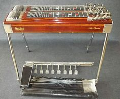 Sho Bud The Professional Pedal Steel Guitar 8 Pedals 6 Knees Vintage  I will own one of these someday and I will learn how to play it too!