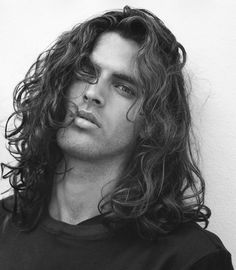 mens long hairstyle - Google Search
