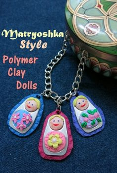 DIY Craft Tutorial: How to Make a Matryoshka Style Polymer Clay Doll Chips Ahoy, Polymer Clay Dolls, Polymer Clay Beads, Jewelry Making Tutorials, Craft Tutorials, Diy And Crafts Sewing, Diy Crafts, Frozen, Clay Pot Crafts
