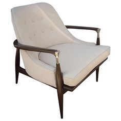 I B Kofod - Larsen Lounge Armchair | From a unique collection of antique and modern armchairs at http://www.1stdibs.com/furniture/seating/armchairs/