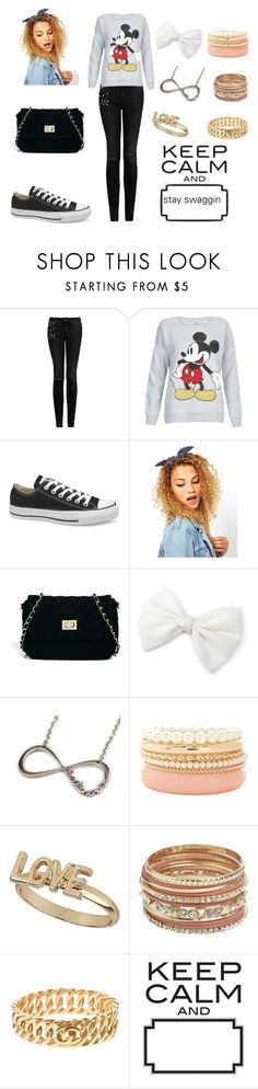 """BMF"" by miss-mulatto ❤ liked on Polyvore featuring MANGO, Converse, Johnny Loves Rosie, ASOS, Charlotte Russe, Topshop, Wet Seal, Chanel and WallPops"