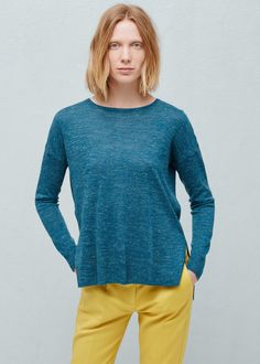 Ribbed edges sweater | School wear, Shopping lists and Shopping