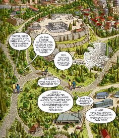 "I read ""Logicomix"" graphic novel and I loved it in every aspect. The theme, the story, the graphics (I notice these words are all of greek origin) and of course the walks in Athens. Translated in 12 languages -a must read."