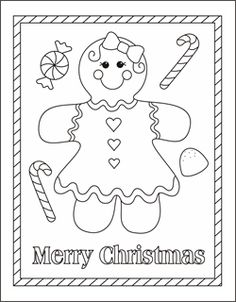 gingerbread girl coloring page gingerbread man coloring pages gingerbread boy coloring sheets christmas - Fun Sheets For Kids