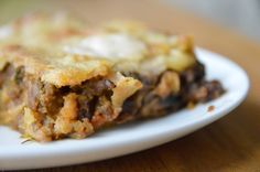 Delicious allergy safe lasagne, free from dairy, eggs, wheat, gluten, nut, tomato and more!