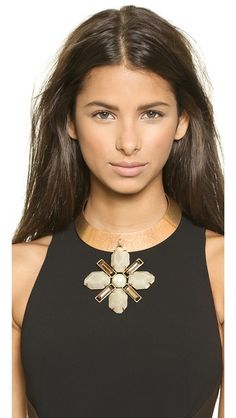 Tory Burch Lia Collar Necklace ($425)
