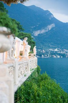Pic from a wedding at Villa Balbianello, Lake Como Italy. Stunning views. I want!