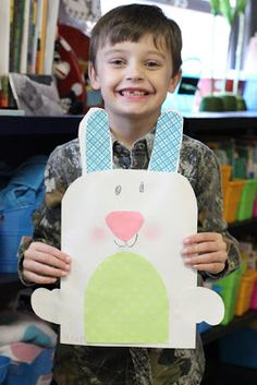 First Grade Blue Skies: Simple Bunny and Tie Dye Carrot Freebie