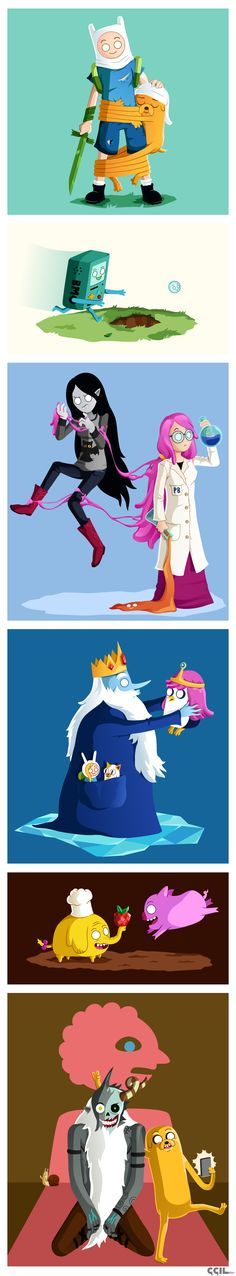 Adventure Time by cecile-appert on DeviantArt