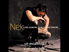 Nek - Cuando tú no estás (lyrics)