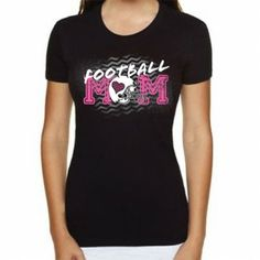 Rock this new sports Iadori tee.  Made by IADORI  Football MOM design  No rhinestone on this tee  Tee's are running a size small  Fitted ladies long body classic short sleeve crew  100% cotton combed spun jersey – pre shrunk.