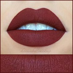 Yasssssss #UNICORNBLOOD liquid lipstick is gonna look amazing on everyone this FALL thanks @shannonbellemakeup for such a gorgeous lip swatch!