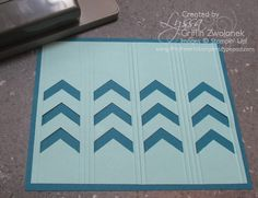 Mini Photo Tutorial: fancy borders with the Chevron Punch, part one
