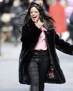 Havana, Matthew Hussey, Fifth Harmony, Beautiful Celebrities, Goth, Winter Jackets, Nyc, Punk, Leather Jacket