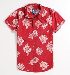 Modern Amusement Higgins Short Sleeve Woven Shirt - PacSun.com