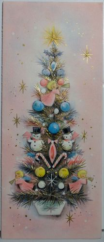 1960s Pink Angels on The Tree