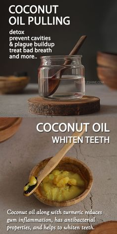 COCONUT OIL TO DETOX MOUTH AND WHITEN TEETH NATURALLY - The Little Shine