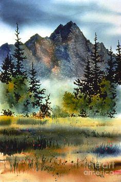 Matanuska Painting - Matanuska by Teresa Ascone