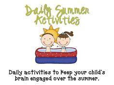 Summer Activity Chart