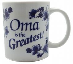 Gift for Oma Coffee Cup